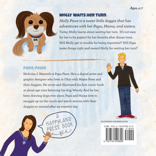 Papa Paws Book 1 35 BackCover PRINT