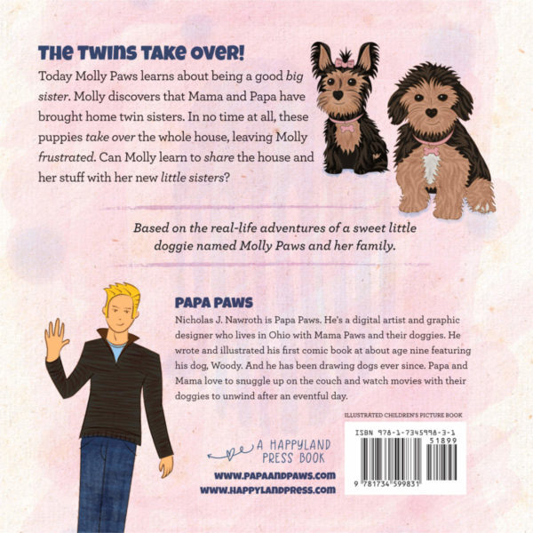 Papa Paws Book 2 09 Back Cover HC