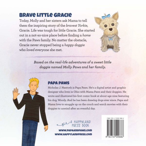 Papa Paws Book 3 p35 Cover BACK